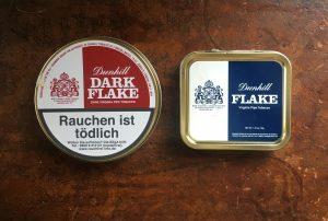 Dunhill Flake und Dark Flake