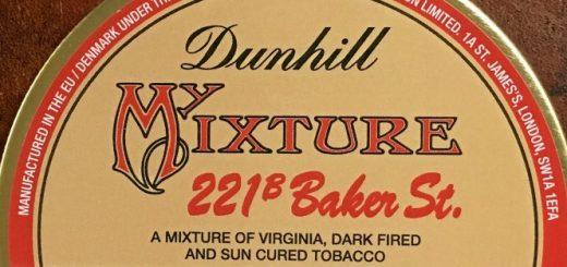 Etikett Dunhill 221B Baker Street