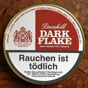 Tabakdose Dunhill Dark Flake