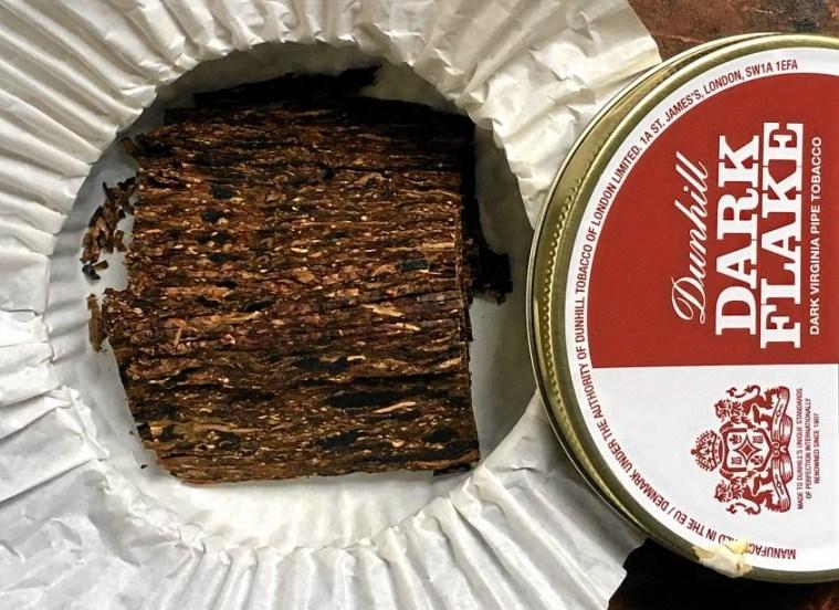 Tabak Dunhill Dark Flake