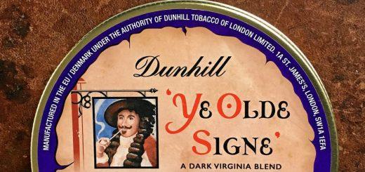 Tabakdose Dunhill Ye Olde Signe
